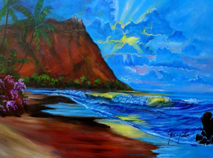 Blue Sunset - Jennylee