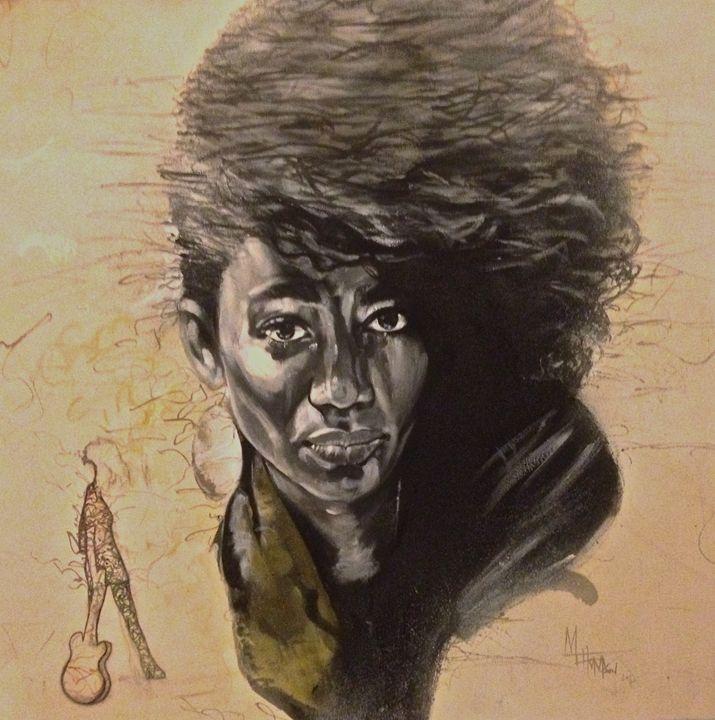 Nneke Nigerian Singer - MGT-ARTWRKS