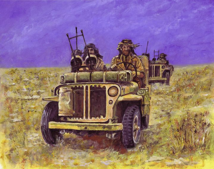 The Long Range Desert Group - Phil Willetts