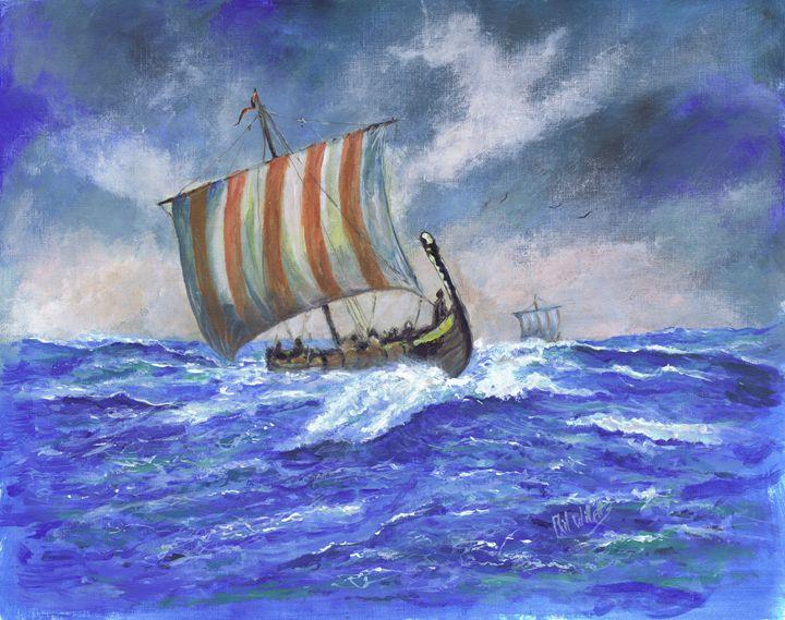 Viking Longship - Phil Willetts