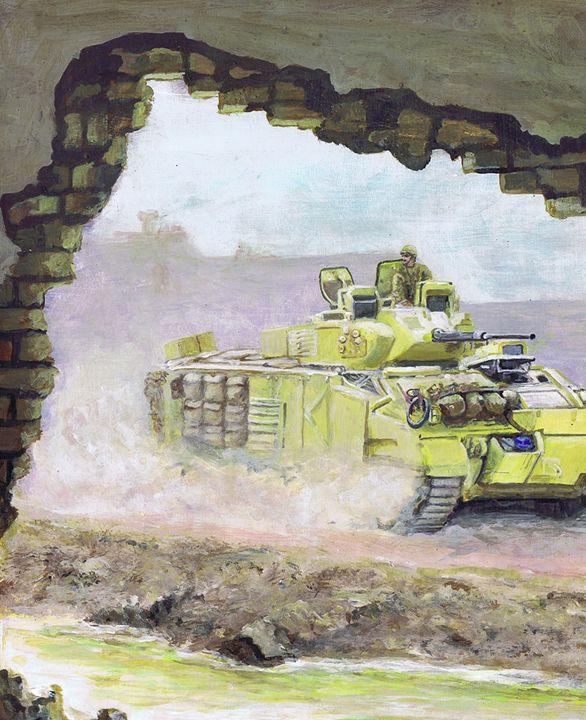 Desert Warrior Iraq - Phil Willetts