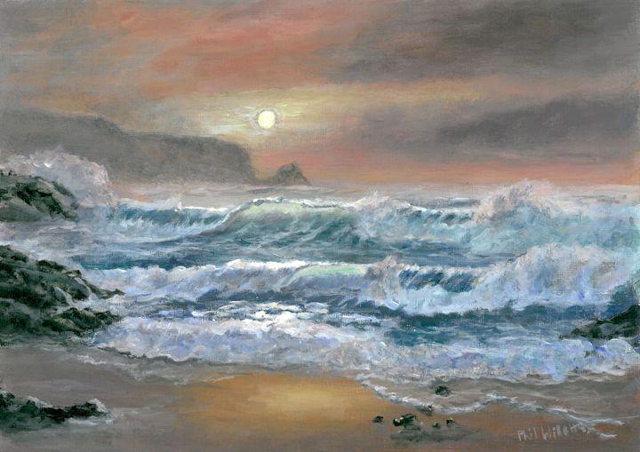 Sunset Seascape - Phil Willetts