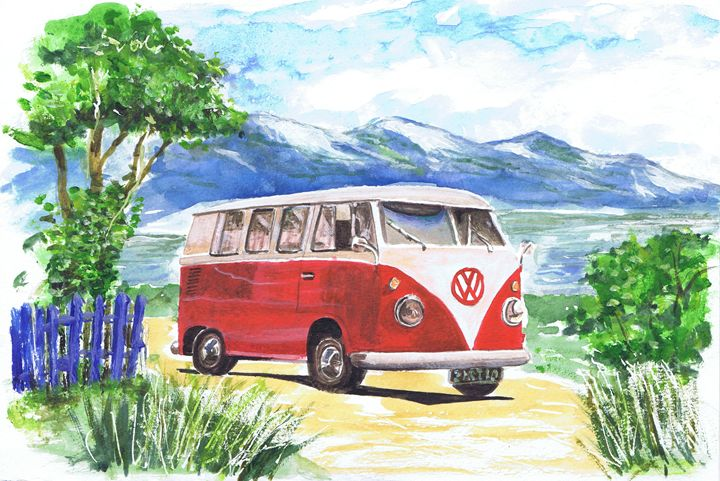 Camper Van - Phil Willetts