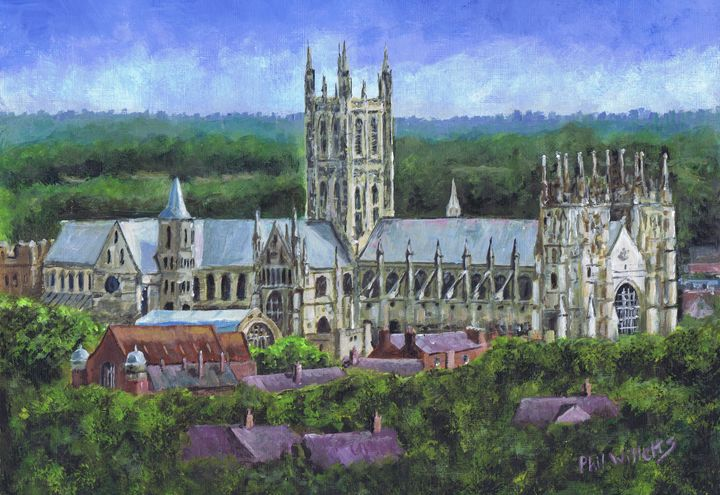 Canterbury Cathedral from a distance - Phil Willetts