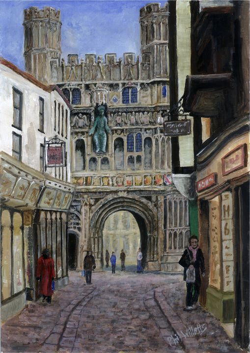 Mercery Ln Canterbury - Phil Willetts