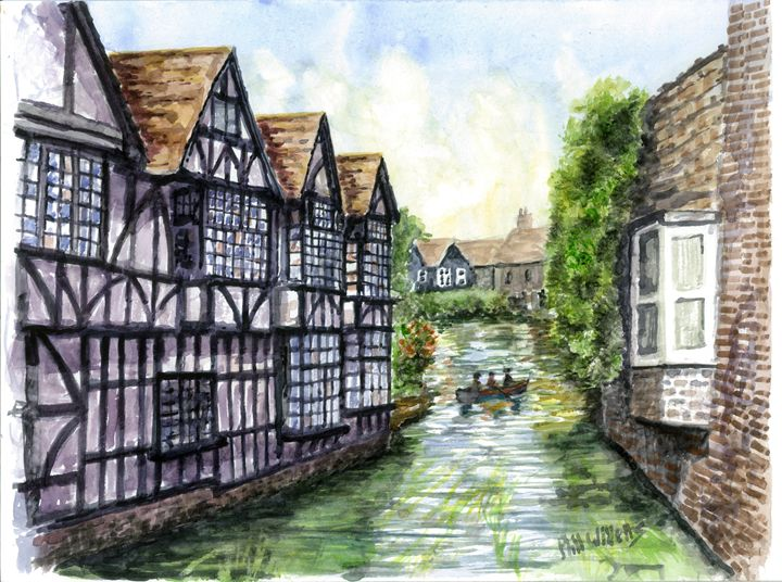 St Peters Street Canterbury - Phil Willetts