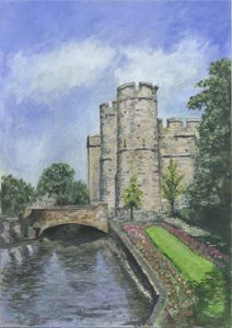 River Stour overwatch Westgate Tower