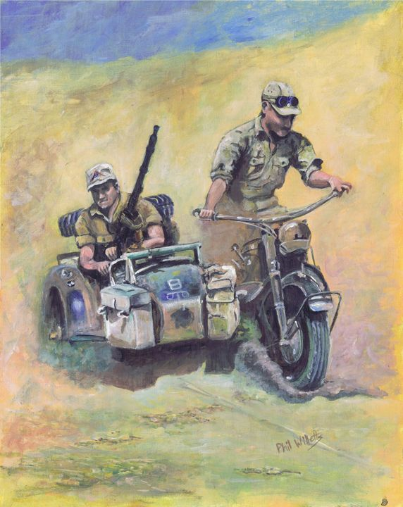 Afrika Korps - Phil Willetts