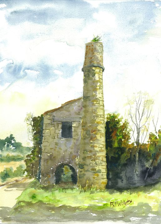Cornish Tin Mine Engine House - Phil Willetts