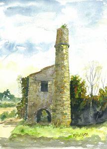 Cornish Tin Mine Engine House