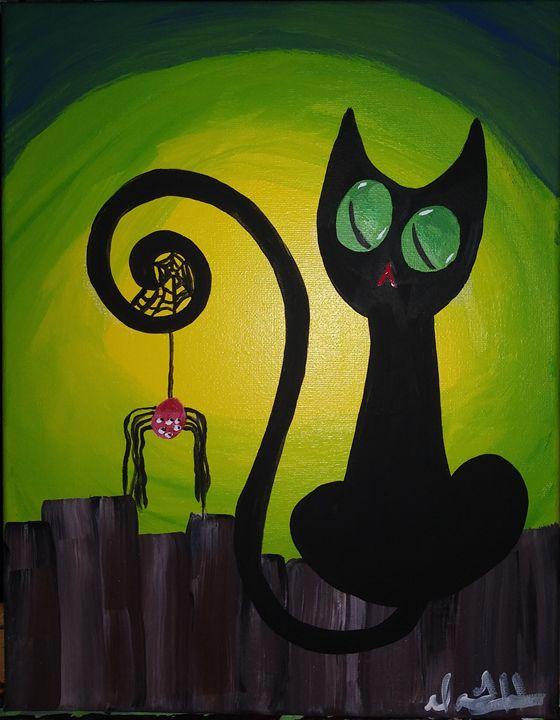 Halloween Kitty - Dawn Haschalk