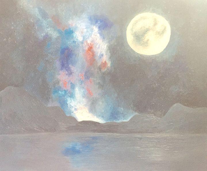 Moon night sky - MtBui