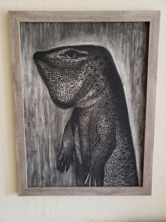 Goanna - Leala Marie Art