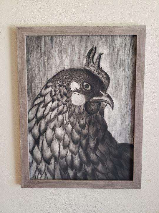 Chicken - Leala Marie Art