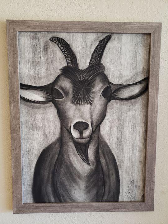 Billy Goat - Leala Marie Art