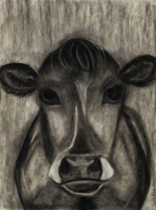 Cow - Leala Marie Art