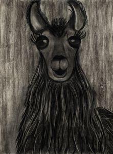 Llama - Leala Marie Art