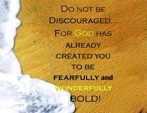 Fearfully and Wonderfully Bold