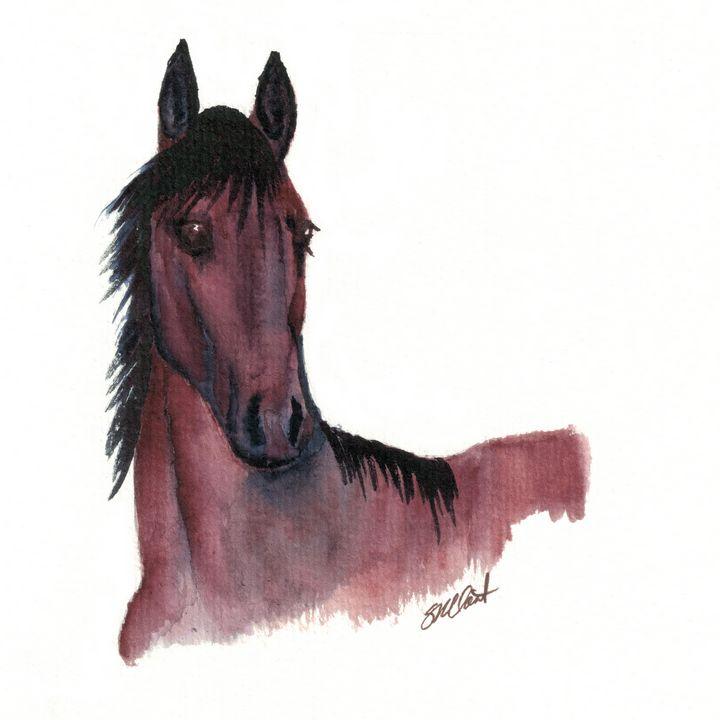 Luna - Sean Kienle Watercolor Designs