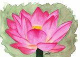 Original Watercolor on Paper-Framed