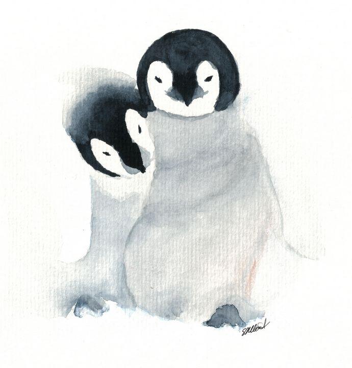 Best Friends - Sean Kienle Watercolor Designs