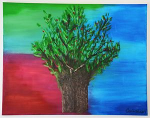Baobab / Tree of Life - Julia C.