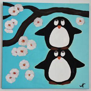 Laugh / Penguins - Julia C.