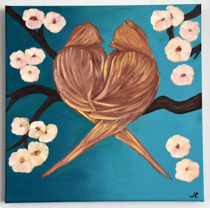 Love / Birds in Love - Julia C.