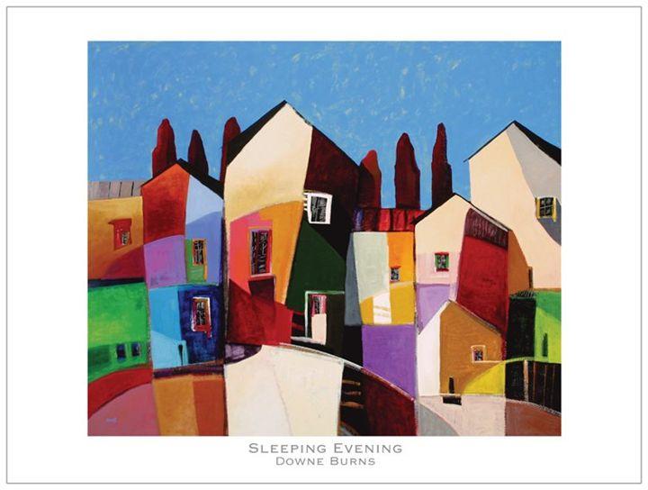 Sleeping Evening - Downe Burns Gallery