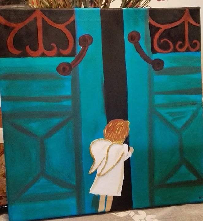 Little angel opening door - MaKart