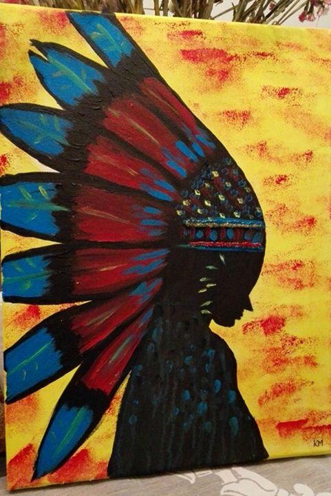 American Indian woman - MaKart