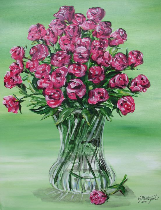 Bouquet of Roses - Amy Prendergast