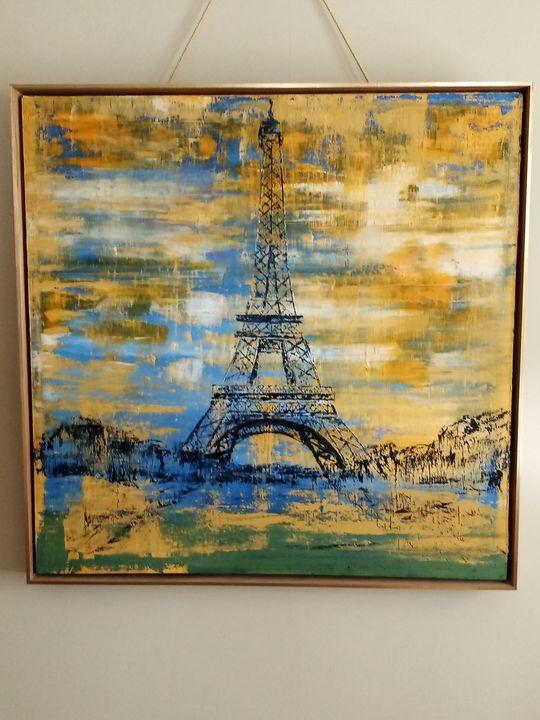 Eiffel Tower - Nick's Art