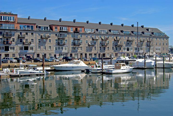 Waterfront Reflection - photographybycaroline