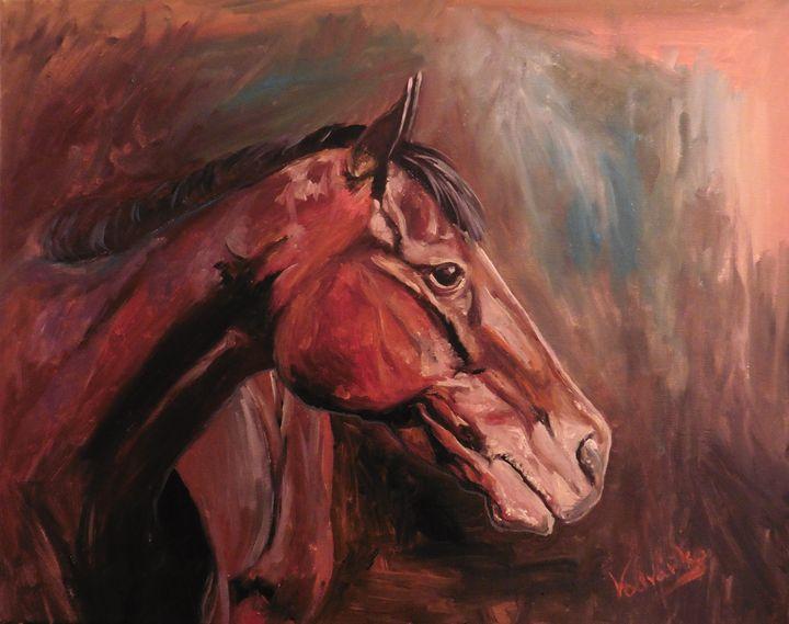 Horse 15 - Painter Marek Vodvářka