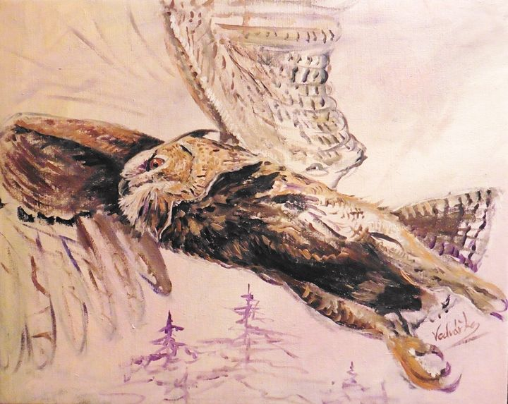 Eagle Owl - Painter Marek Vodvářka