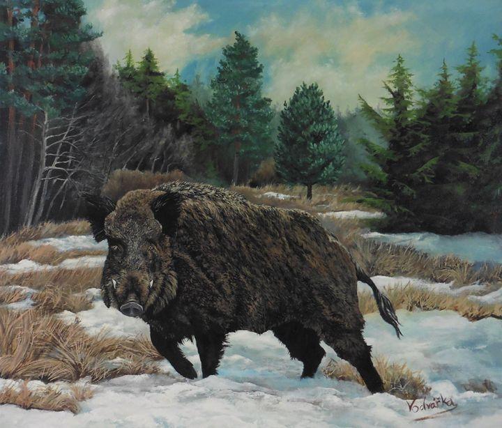 Wildboar - Painter Marek Vodvářka