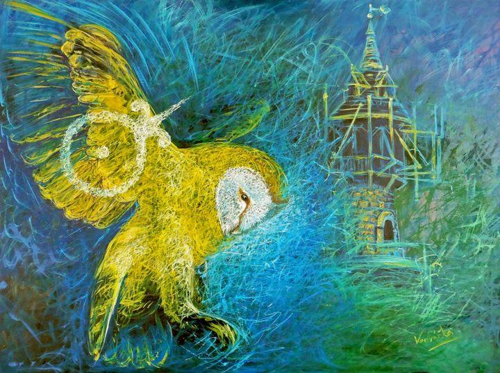 The Alchemy of gold - Painter Marek Vodvářka