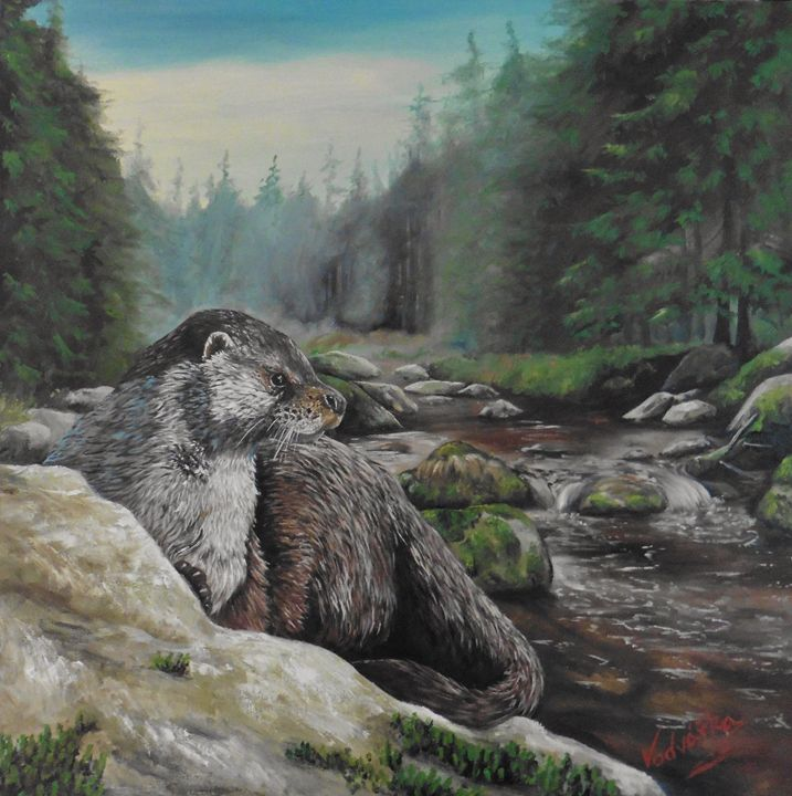Otter - Painter Marek Vodvářka