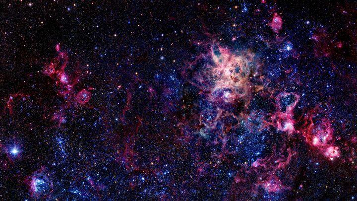 Tarantula Nebula - Jiya's Artwork