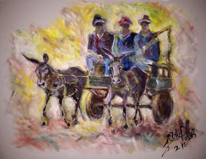 The Donkey Cart - Fancy a Ride? - Ian du Plessis