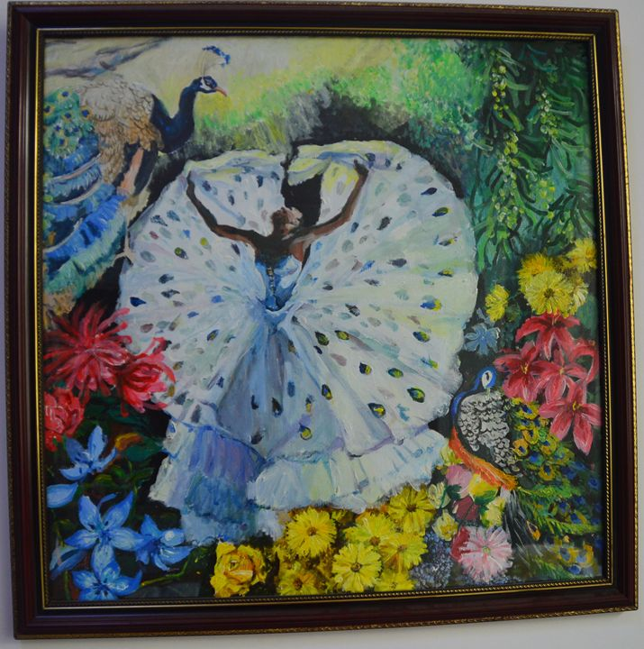 peacock dance - Spring Arts