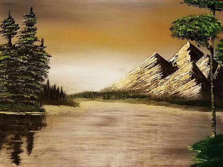 A somewhat interesting landscape - Taranchula Art