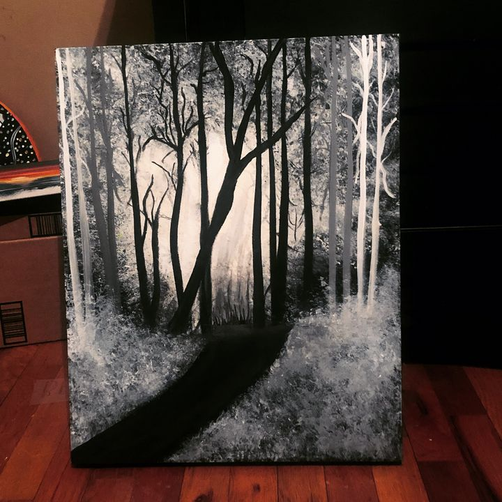 Into the light - With all my Art (Erin Hart)