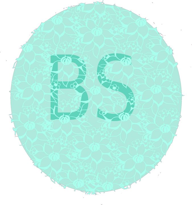Blue noble egg with BS logo - Bonna Shejve