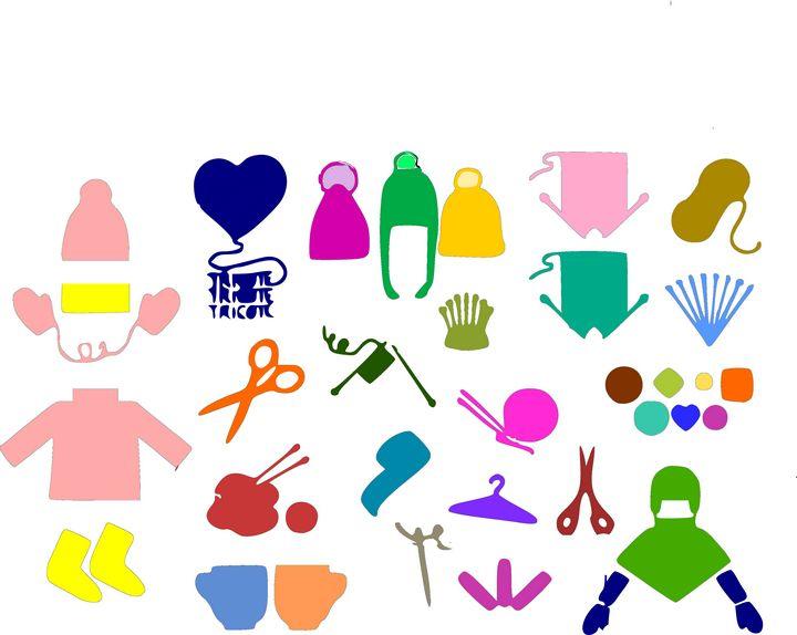Knitting creative set for householde - Bonna Shejve