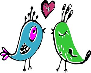 Love birds that sing love story