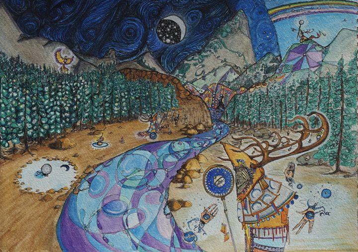 Transcendental Florest - Torrences' Arts