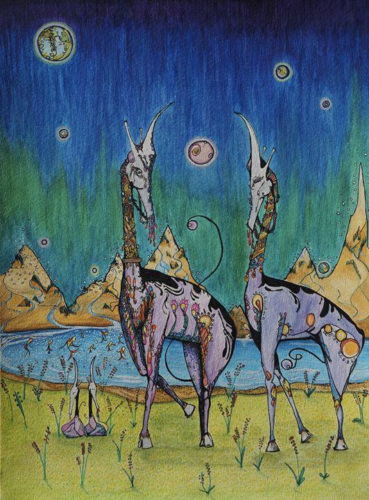 Trancendental wild life - Torrences' Arts
