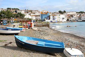 Blue Boat in Cadequés